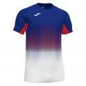 Camiseta Elite VII Royal-Blanco-Rojo