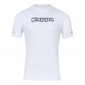 Camiseta térmica Kappa Teramo M/C Blanca